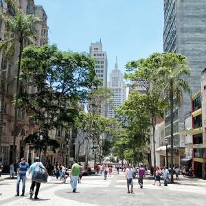 Avenida São João, no Centro de São Paulo: desordem ou dinamismo? Foto: Diego Torres Silvestre @ Flickr