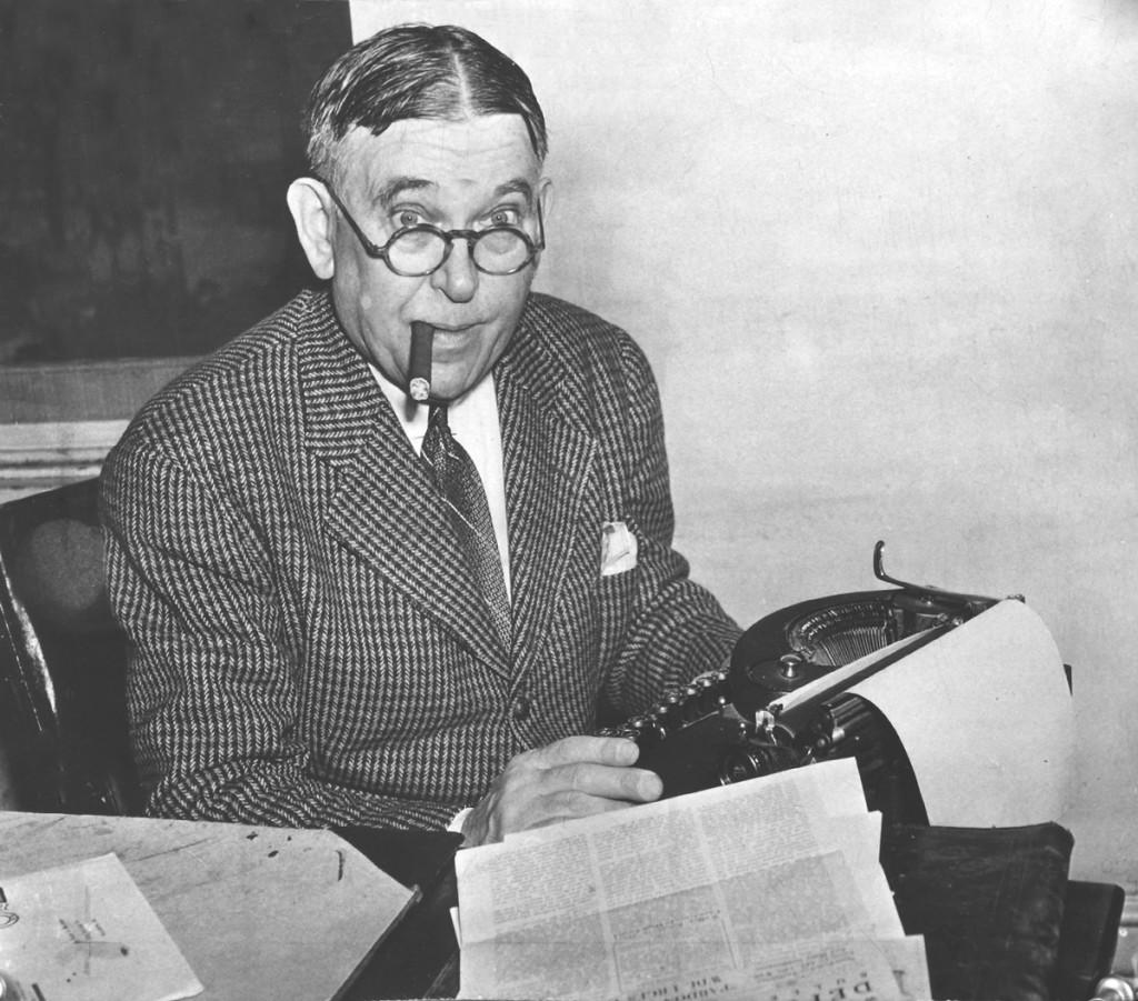 H. L. Mencken, um dos satiristas mais famosos dos EUA