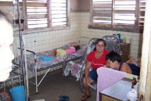 Hospital Pediátrico em Cuba